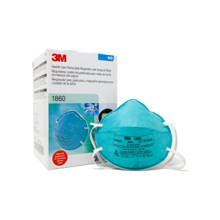 Particulate Respirator and Surgical Mask 1860 N95 20Pc - 3M