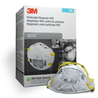 Particulate Respirator and Surgical Mask 8210 N95 20Pc - 3M