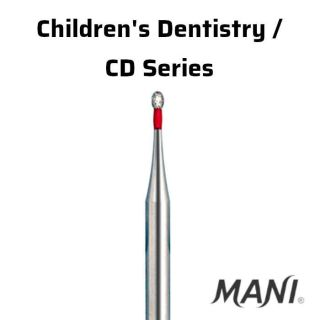 Diamond Bur FG Children's Dentistry / CD Series - Mani