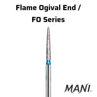 Diamond Bur FG Flame Ogival End / FO Series - Mani