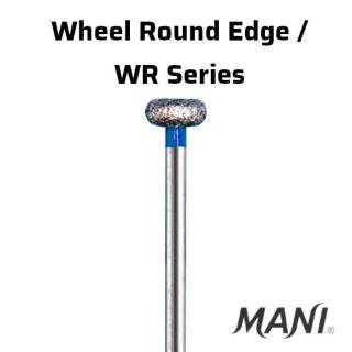 Diamond Bur FG Wheel Round Edge / WR Series - Mani