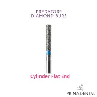 Prima Classic Diamond Operative Bur Cylinder Flat End - Prima Dental