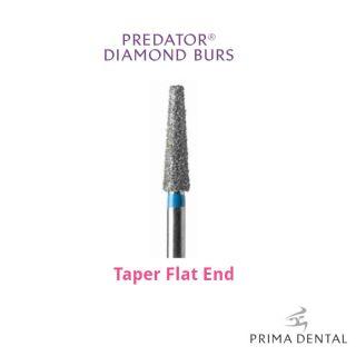Prima Classic Diamond Operative Bur Taper Flat End - Prima Dental