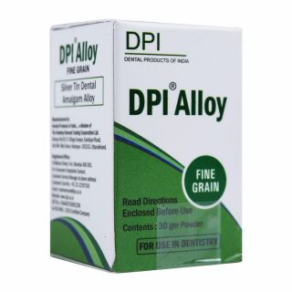 Amalgam Alloy Fine Grain 30gm - DPI
