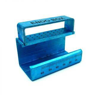Endo Organizer Alluminium Blue - Golden
