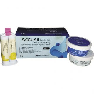 Accusil Putty and Light Body Combo Kit