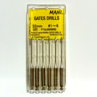 Gates Drill Pack of 6 - Mani
