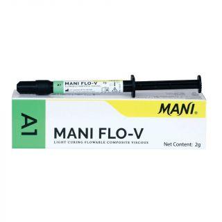 Mani Flo-V Flowable Composite Syringe 2gm - Mani