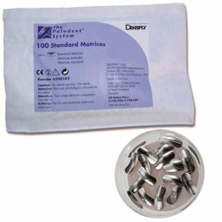 Palodent Standard Matrices Refill 100Pc - Dentsply