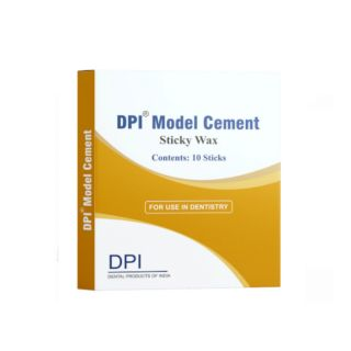 Model Cement Sticky Wax 10Pc - DPI