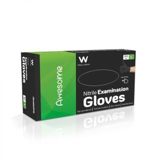 Gloves Nitrile Powder-Free 80Pc - Waldent