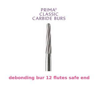 Prima Classic Carbide Orthodontic Bur 12 Flutes Safe End - Prima Dental