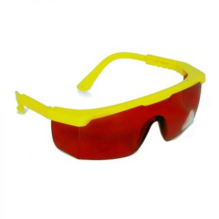Safety Goggles UV400 Protective #Red – Green Guava
