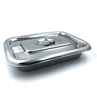 Stainless Steel Tray with Lid