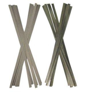 Abrasive Strips D/S #Medium 12Pc [RS-D4X150M-12] - Strauss