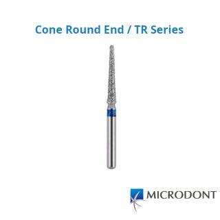 Diamond Bur FG Cone Round / TR Series - Microdont