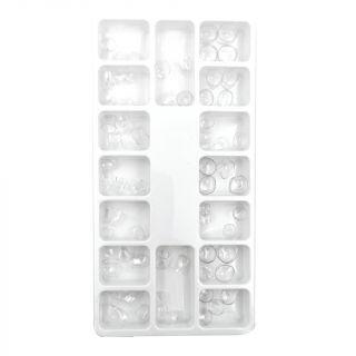 Transparent Crowns Pedo 64Pc - Apex