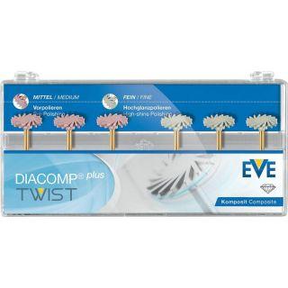 Diacomp Plus Twist Composite Polishing Kit (RA 342) - EVE