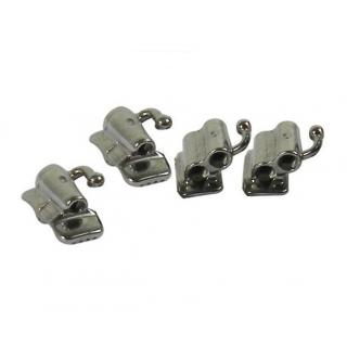 MBT/Roth .022 1st Molar UD/LS 4 Pc Set Bondable Tubes [JTM22DS] - Libral