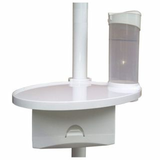 Utility Tray with Glass and Napkin Dispenser - Green Guava