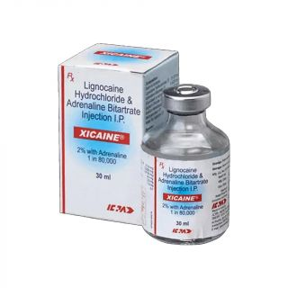 Xicaine 2% with Adrenaline 1:80000 30ml - ICPA